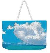 Storm Off The Beach Weekender Tote Bag