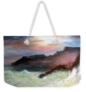 Storm On Mount Desert Island Weekender Tote Bag