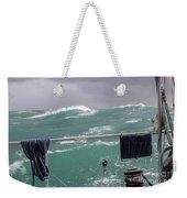 Storm On Tasman Sea Weekender Tote Bag