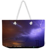 Storm Over Brush Weekender Tote Bag