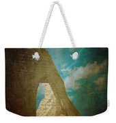 Storm Over Etretat Weekender Tote Bag by Loriental Photography