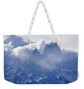 Storm Over Fitz Roy 3 Weekender Tote Bag