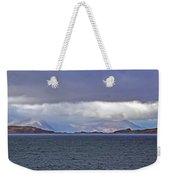 Storm Over Oban Bay Weekender Tote Bag
