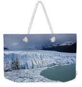 Storm Over Perito Moreno Weekender Tote Bag