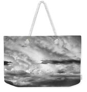 Storm Over Sedona Weekender Tote Bag by Dave Bowman