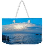 Storm Over Whitefish Bay Weekender Tote Bag