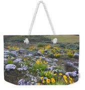 Storm Over Wildflowers Weekender Tote Bag