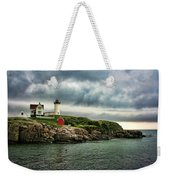 Storm Rolling In Weekender Tote Bag by Heather Applegate