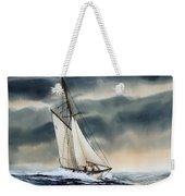 Storm Sailing Weekender Tote Bag