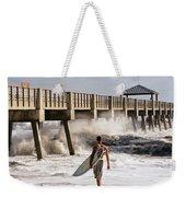 Storm Surfer Weekender Tote Bag