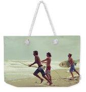 Storm Surfers Weekender Tote Bag