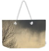 Storm Virga Over Rogue Valley Weekender Tote Bag