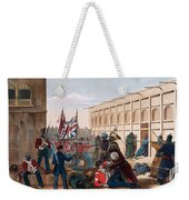 Storming Of Khelat, The Troops Entering Weekender Tote Bag