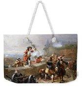 Storming The Battlements Weekender Tote Bag