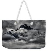 Storms Over Glaciers And Rugged Peaks Weekender Tote Bag