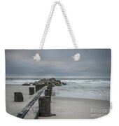 Stormy Beach Forcast Weekender Tote Bag