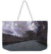 Stormy Blue Ridge Parkway Weekender Tote Bag