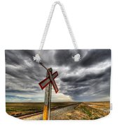 Stormy Crossing Weekender Tote Bag