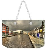 Stormy Day At Alphen Aan Den Rijn Weekender Tote Bag