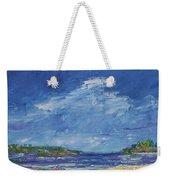 Stormy Day At Picnic Island Weekender Tote Bag