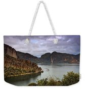 Stormy Day At The Lake  Weekender Tote Bag