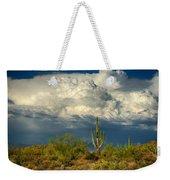 Stormy Desert Skies  Weekender Tote Bag