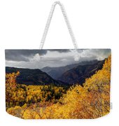 Stormy Fall Along The Alpine Loop - Utah Weekender Tote Bag