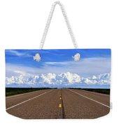 Stormy Highway Weekender Tote Bag