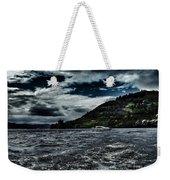 Stormy Loch Ness Weekender Tote Bag