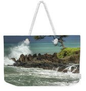 Stormy Maui Morning Weekender Tote Bag