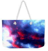 Stormy Monday Blues Weekender Tote Bag