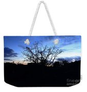 Stormy Night Weekender Tote Bag