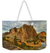 Stormy Over Smith Rock Weekender Tote Bag