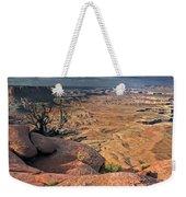 Stormy Skies In Canyonlands Weekender Tote Bag