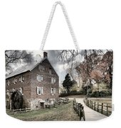 Stormy Skies Over The 1823 Grist Mill Weekender Tote Bag