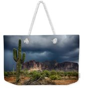 Stormy Skies Over The Superstitions Weekender Tote Bag