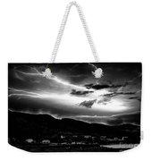 Stormy Sky - Lightening - Small Town Weekender Tote Bag