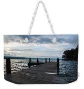 Stormy Sky Over Seneca Lake Weekender Tote Bag