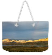 Stormy Sky With Rays Of Sunshine Weekender Tote Bag