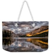 Stormy Sunset At Tenaya Weekender Tote Bag