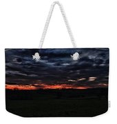 Stormy Sunset Weekender Tote Bag by Miguel Winterpacht