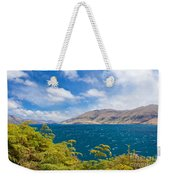 Stormy Surface Of Lake Wanaka In Central Otago On South Island Of New Zealand Weekender Tote Bag