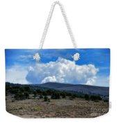 Stormy Wyoming Fall Weekender Tote Bag
