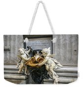 Stoups At The Basilica Weekender Tote Bag