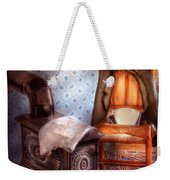 Stove - The Stove And The Chair  Weekender Tote Bag by Mike Savad