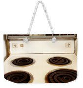 Stove Top Weekender Tote Bag