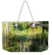 Stow Lake Idyll Weekender Tote Bag