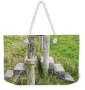 Straddle The Fence Weekender Tote Bag