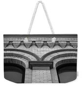 Straight Up Perspective - Black And White Weekender Tote Bag