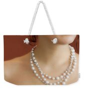 Strand Of Pearls Weekender Tote Bag